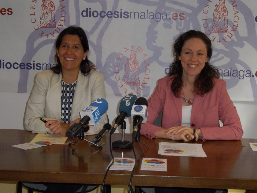 Mª Jesús Floriano y Lola Rando  · Autor: Antonio Moreno