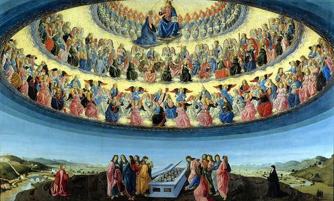 La Asunción De La Virgen María Dibujos De Fano Para Colorear
