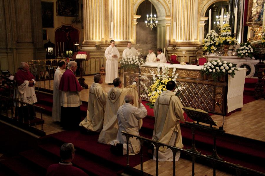 Solemnidad del Corpus Christi, Catedral de Málaga  · Autor: M. ZAMORA