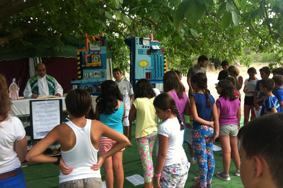 Campamento de verano de Ronda-Serranía  · Autor: J. D. HURTADO
