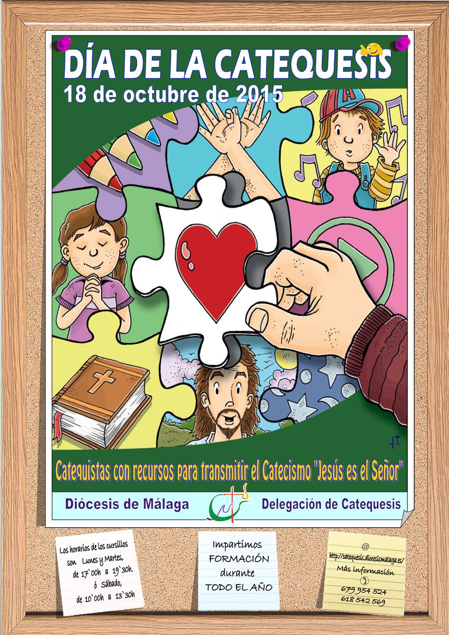 Cartel del Día de la Catequesis