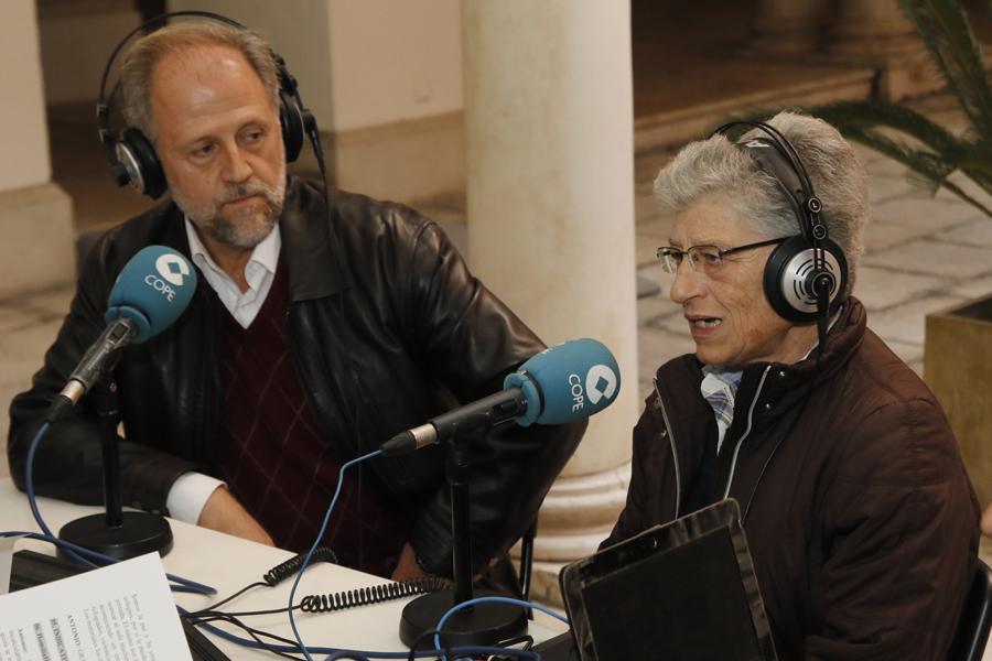 José Mª de las Peñas y Carmen Velasco en El Espejo