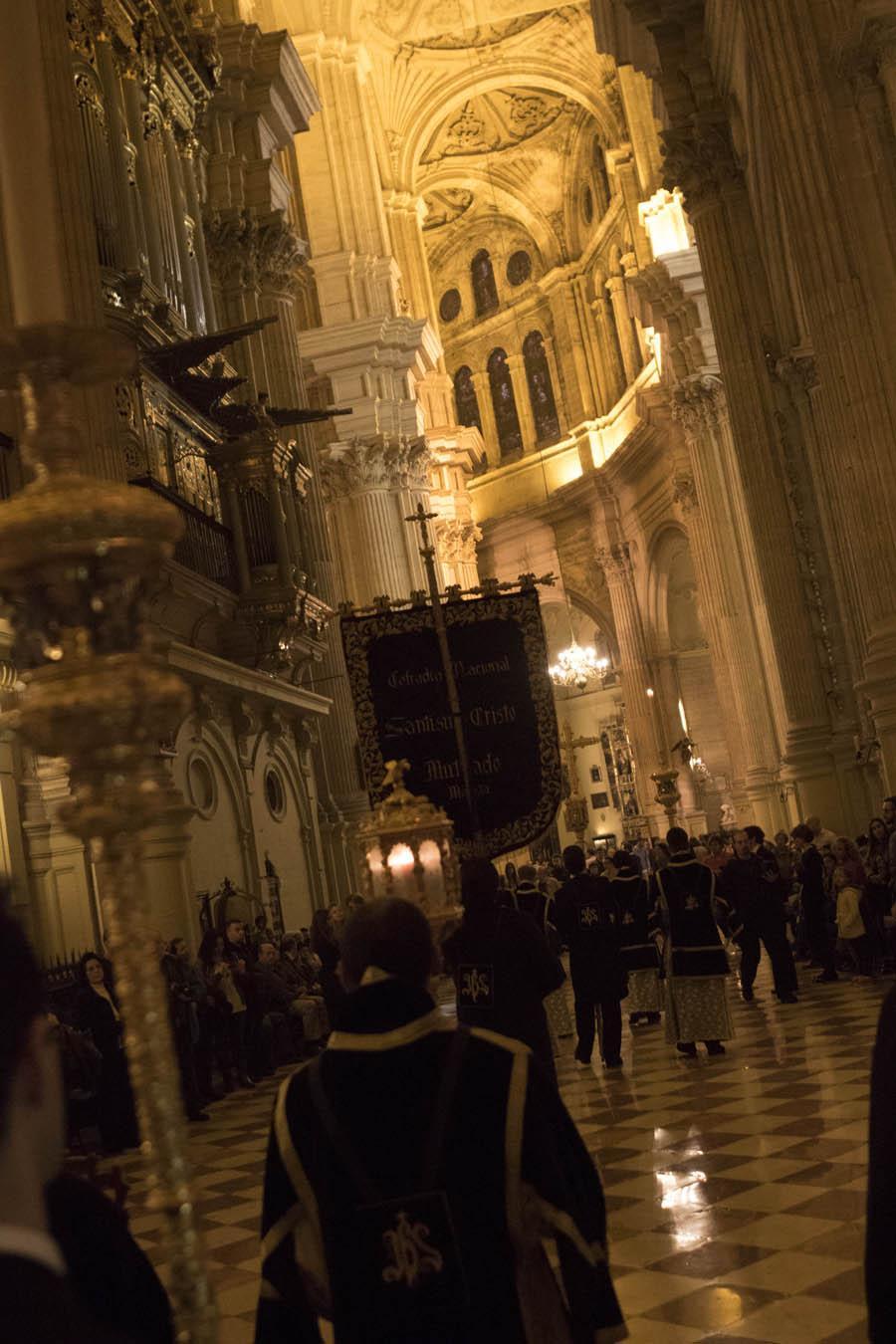 Via Crucis en la Catedral de Málaga  · Autor: S. FENOSA