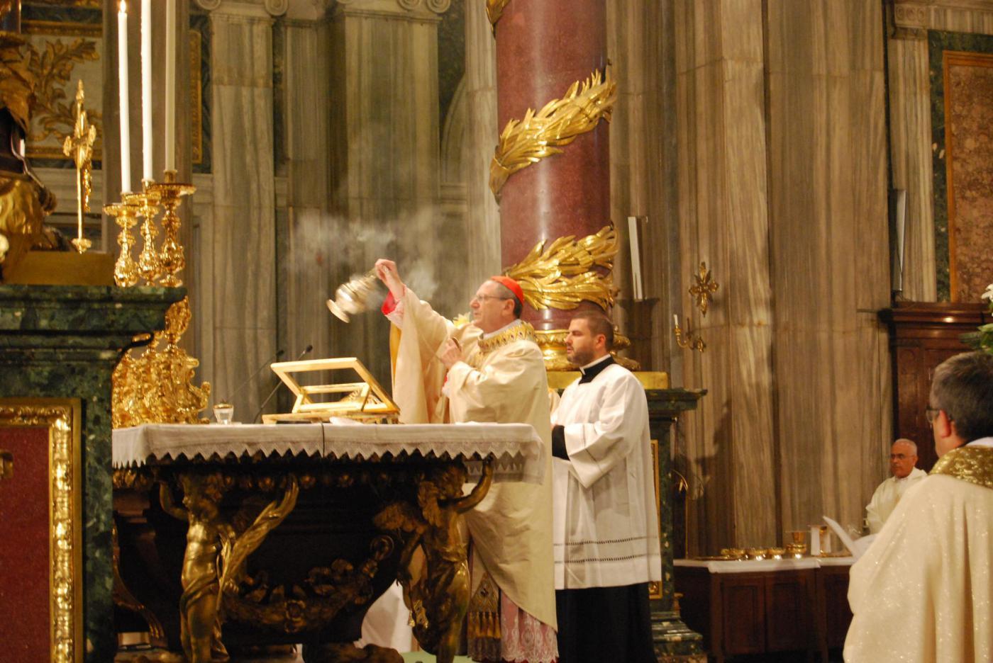 Misa de acción de gracias por la canonización de Manuel González  · Autor: A. MEDINA