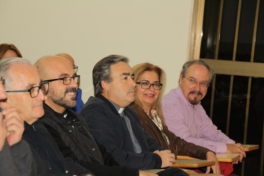 Conferencia del sacerdote Guillermo Tejero, profesor de Moral, en el ciclo sobre
