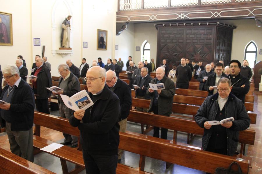 Retiro de Adviento del clero de la Diócesis de Málaga  · Autor: M. J. OTERO