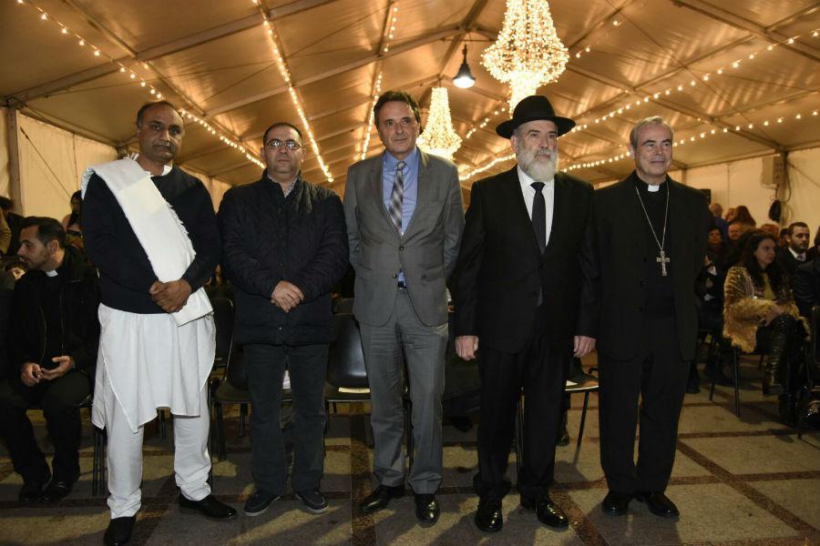 Fiesta de Janucá de la comunidad judía de Torremolinos
