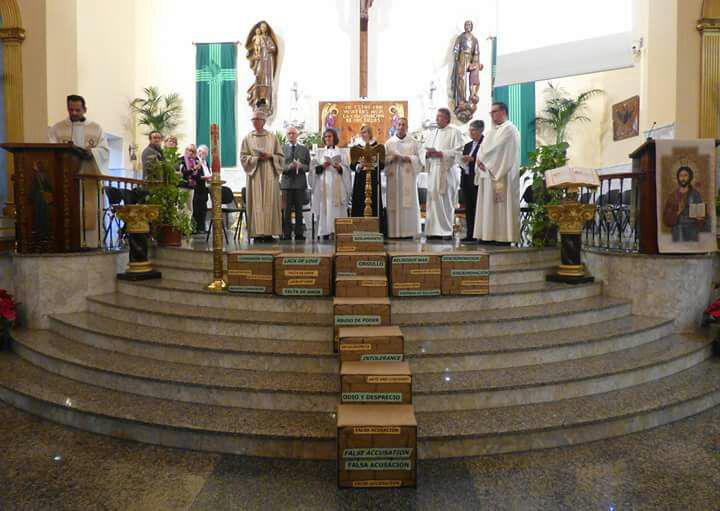 Encuentro Ecuménico en la parroquia del Carmen de Los Boliches