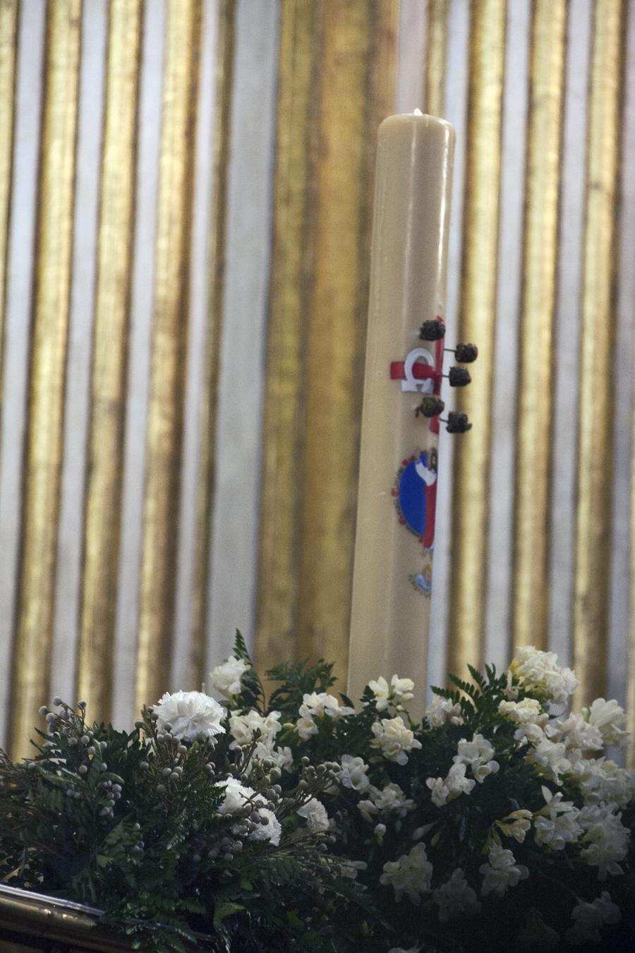 Domingo de Pascua de la Resurrección del Señor en la Catedral de Málaga // M. ZAMORA