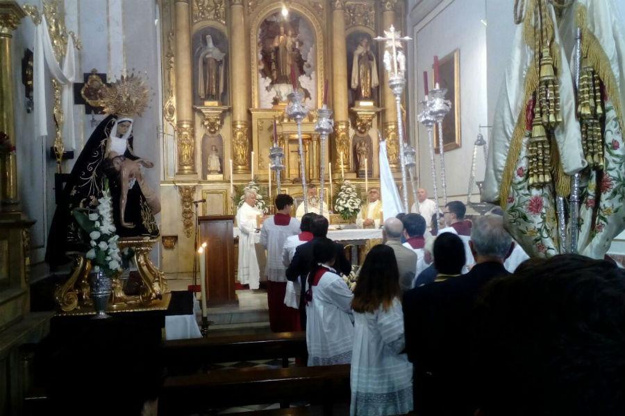 Vélez-Málaga celebra la festividad del Corpus Christi //A. REYES
