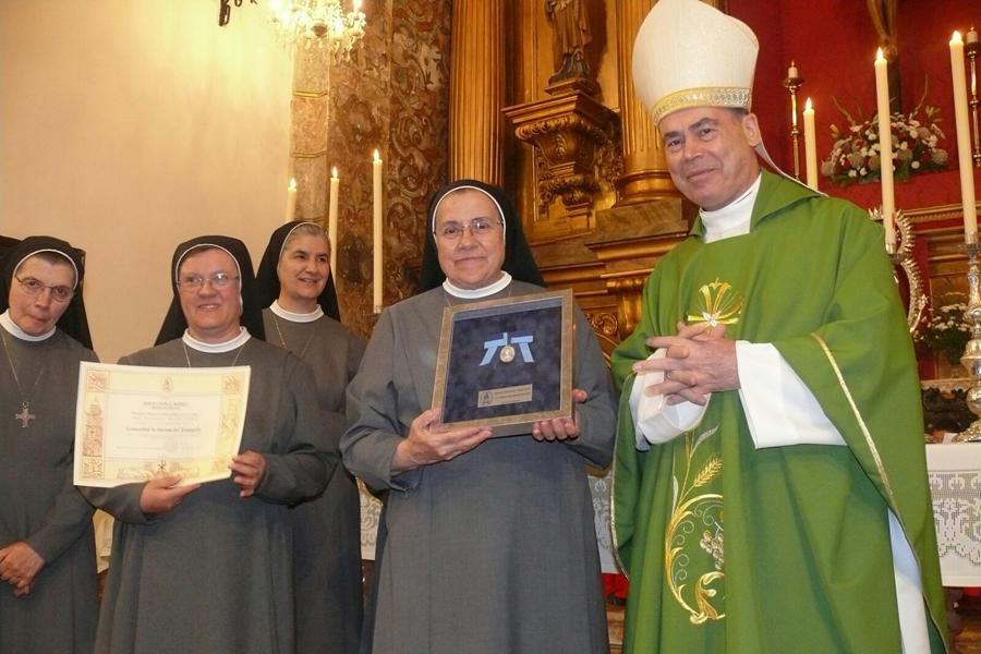 Visita Pastoral del Obispo de Málaga a la parroquia de Santa Cruz Real de Teba