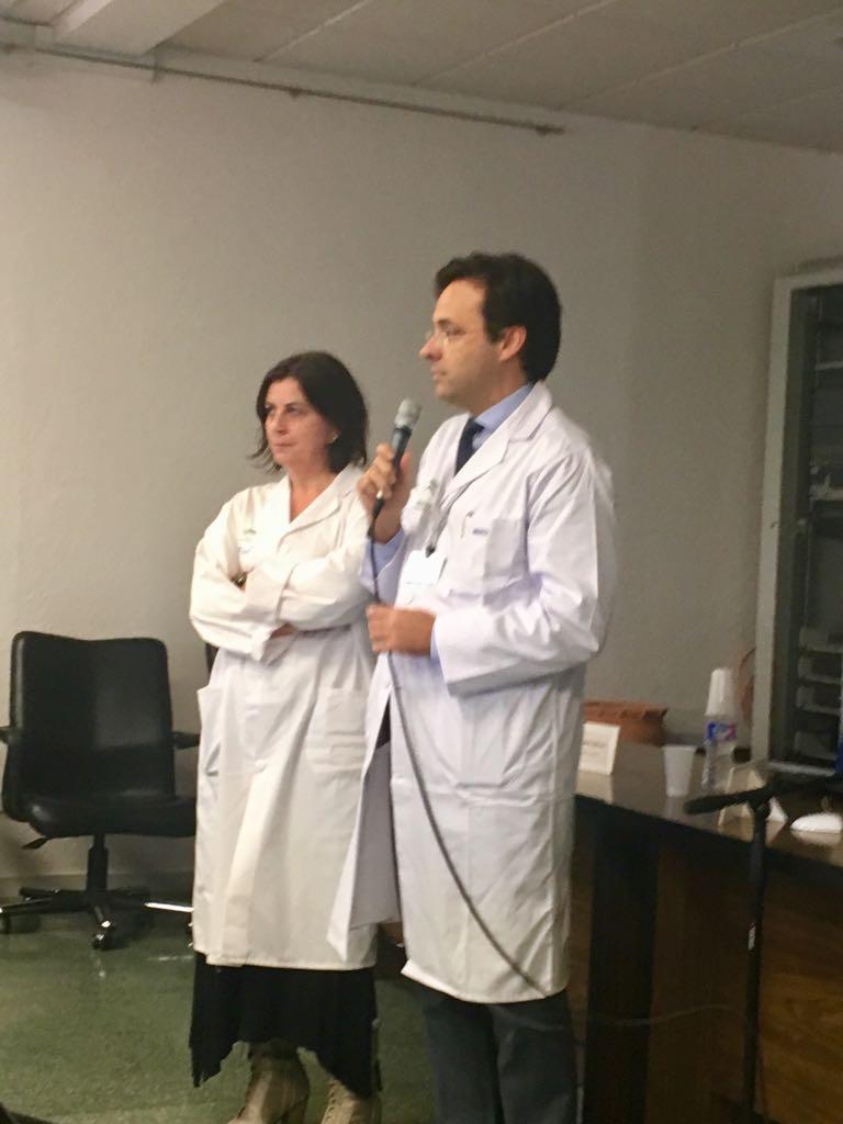 Homenaje al Dr. Gálvez. FOTO: TERESA JIMÉNEZ