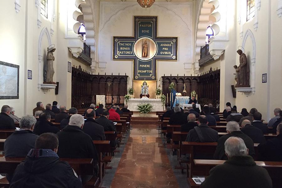Retiro de Adviento y Navidad del clero de la Diócesis de Málaga // J. M. BACALLADO