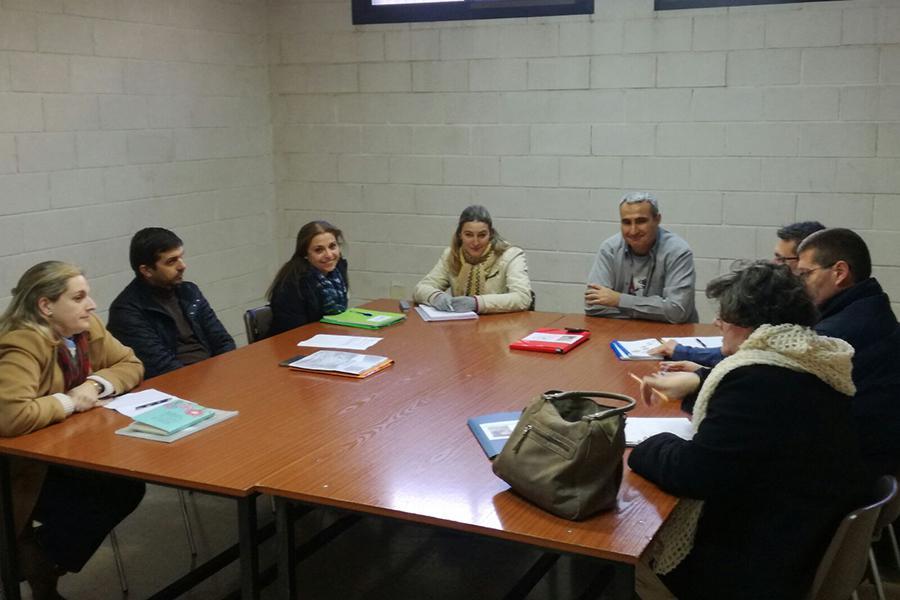 Segunda sesión de la Escuela de Acompañantes de ACG Málaga // C. VERA