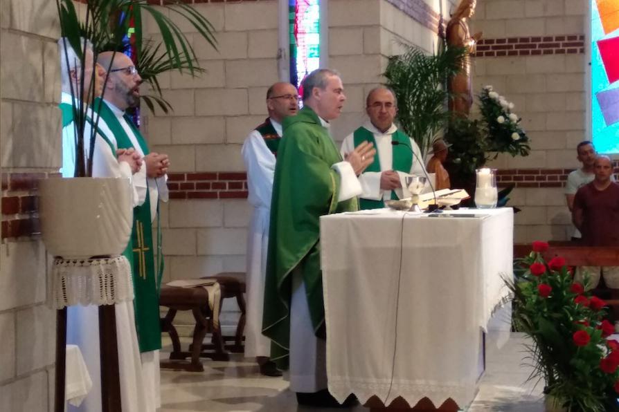 Visita Pastoral en la parroquia Virgen del Camino, en Málaga