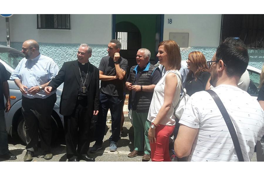 Visita Pastoral del Obispo de Málaga, Jesús Catalá, a la parroquia María Madre de Dios