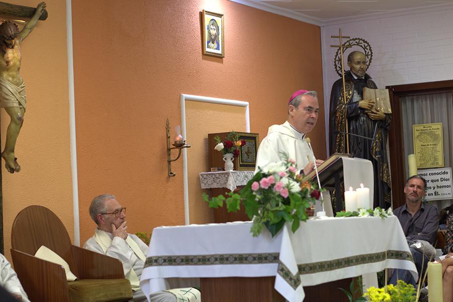 Visita Pastoral del Obispo de Málaga en la parroquia de San Ignacio, en Málaga