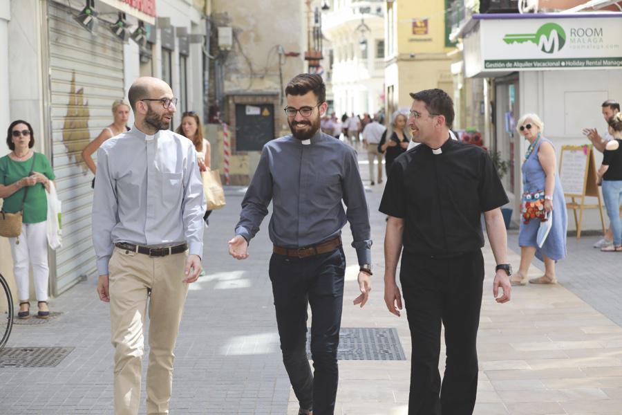José Manuel Bacallado, Juan Baena y Gerardo Rosales // S. FENOSA