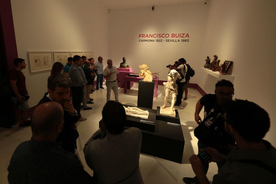 Presentación de «Buiza, maestro escultor», en ArsMálaga Palacio Episcopal // S. FENOSA