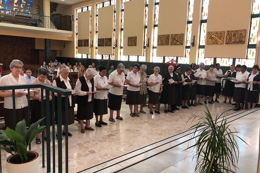 Capítulo General de las Carmelitas del Sagrado Corazón de Jesús, en Málaga