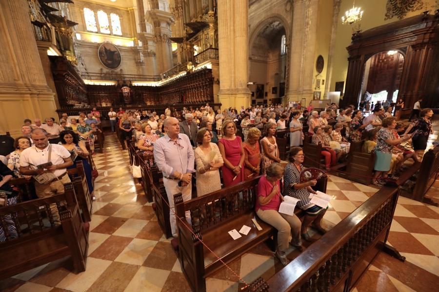 Novena a Santa María de la Victoria de 2018, predicada por Guillermo Tejero
