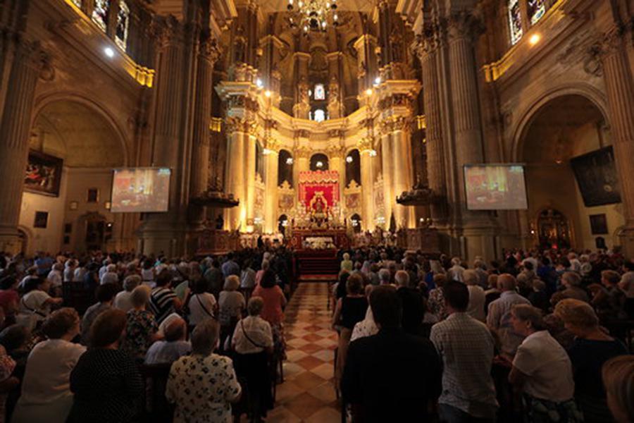 Festividad de Santa María de la Victoria, en la Catedral de Málaga  · Autor: S. FENOSA