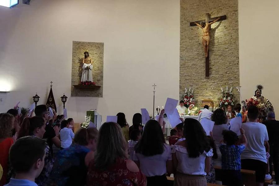 Eucaristía de bendición de la imagen de San José de Vélez-Málaga