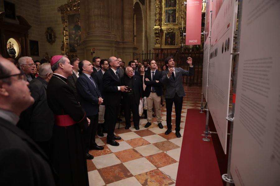 """Presentación de la exposición """"La Catedral de Málaga, una sinfonía inacabada""""  · Autor: S. FENOSA"""