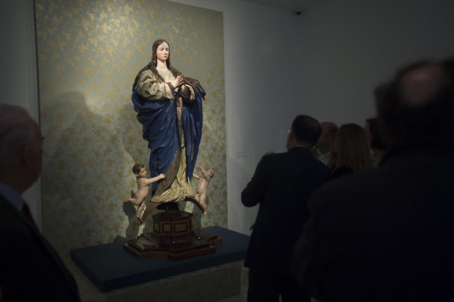 """Inauguración de la exposición """"Pedro de Mena. Granatensis malacae"""""""