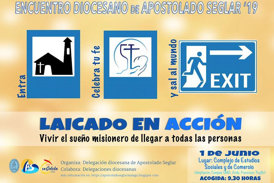 Cartel del Encuentro Diocesano de Laicos