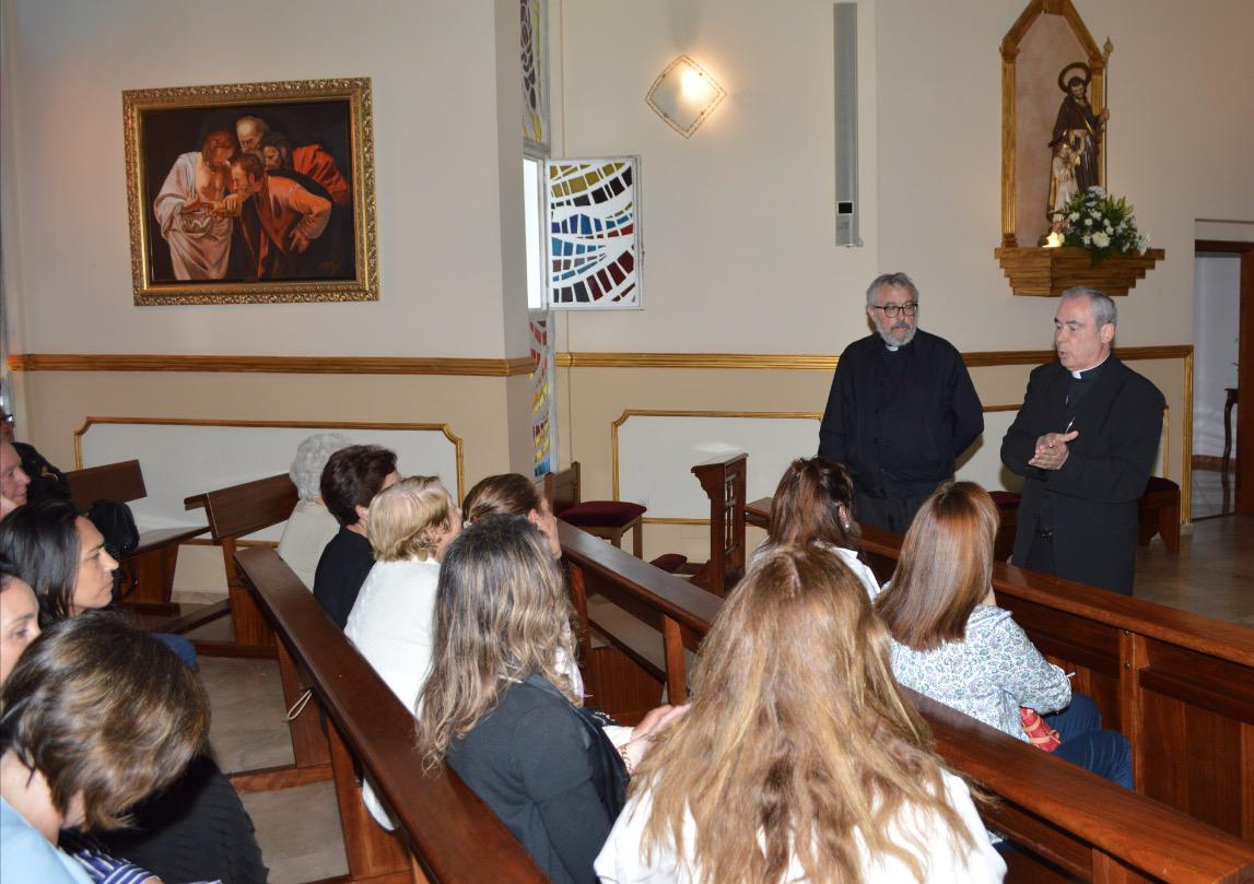 Visita Pastoral del Obispo de Málaga a la parroquia Virgen del Carmen de Marbella // J. ESTEBAN
