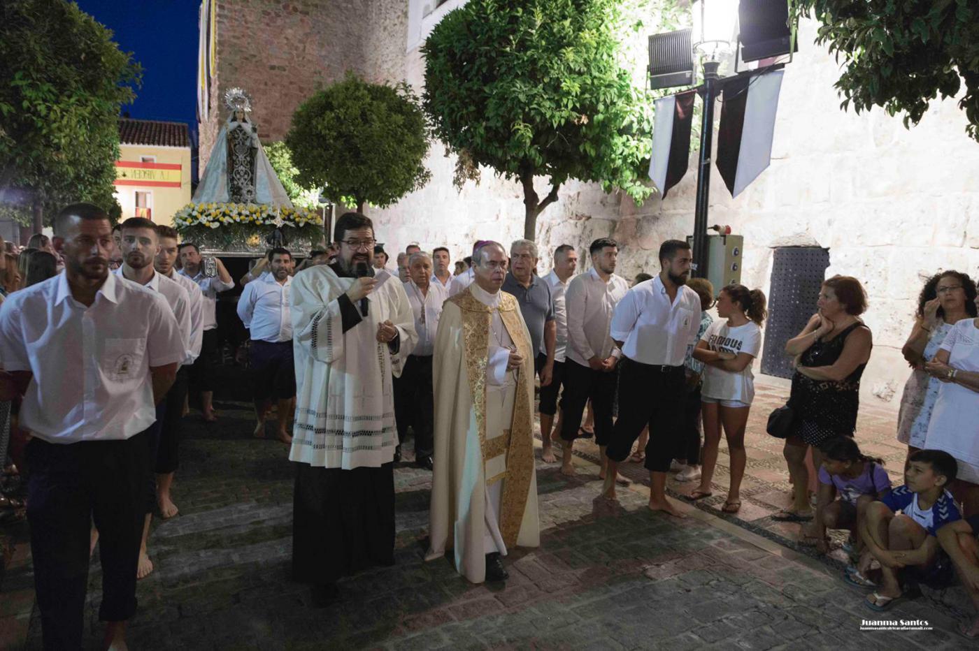 Rosario de la Aurora de la Virgen del Carmen de Marbella, el 16 de julio de 2019