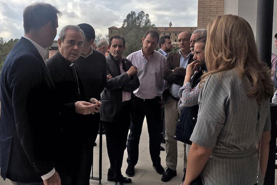 Encuentro del obispo con los fieles laicos en septiembre de 2018  · Autor: AGRUPACIÓN COFRADÍAS