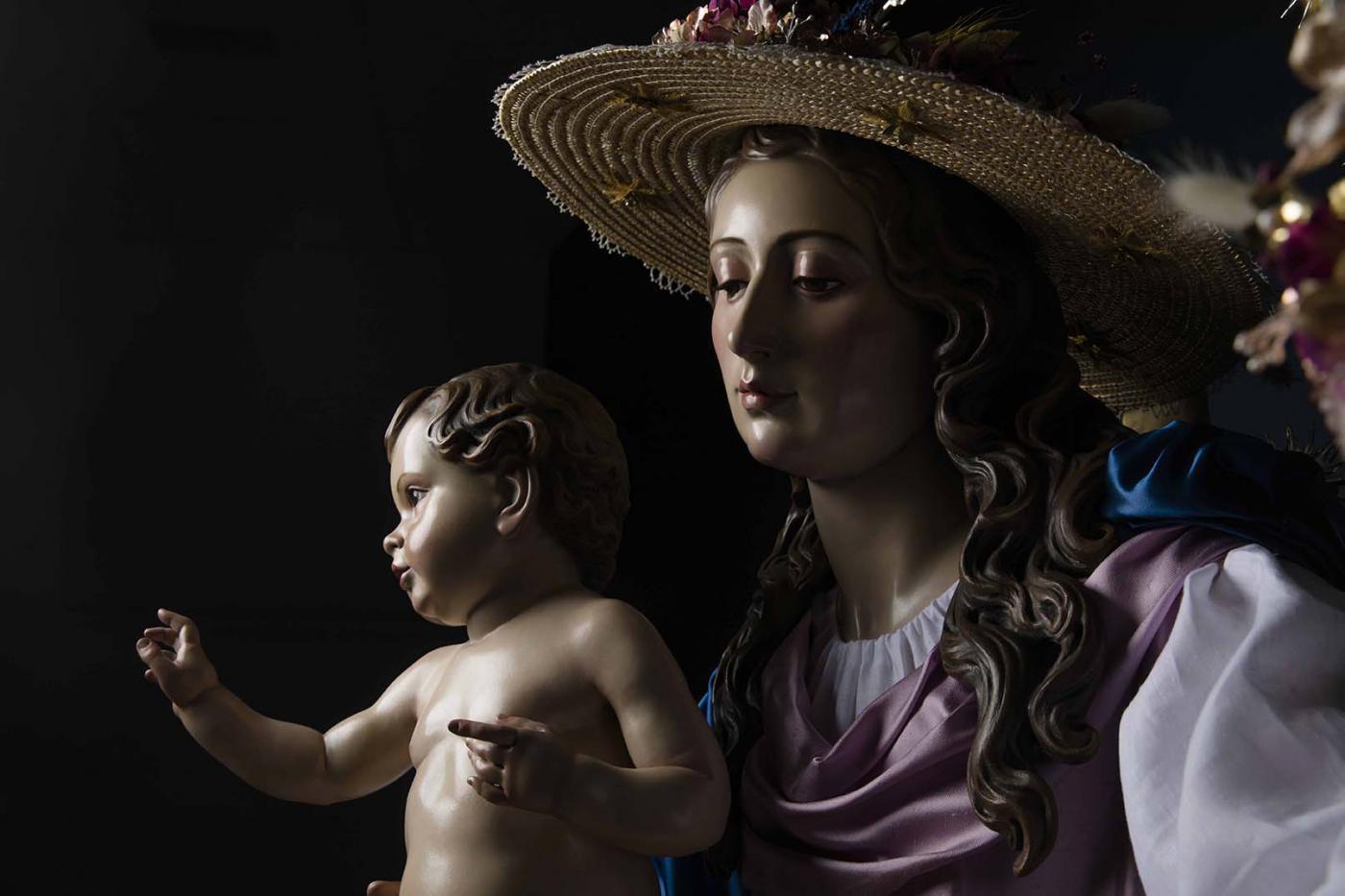 Imagen de la Divina Pastora de las Almas de Cártama