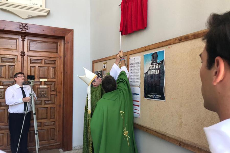 Celebración en la parroquia Santa María del Mar