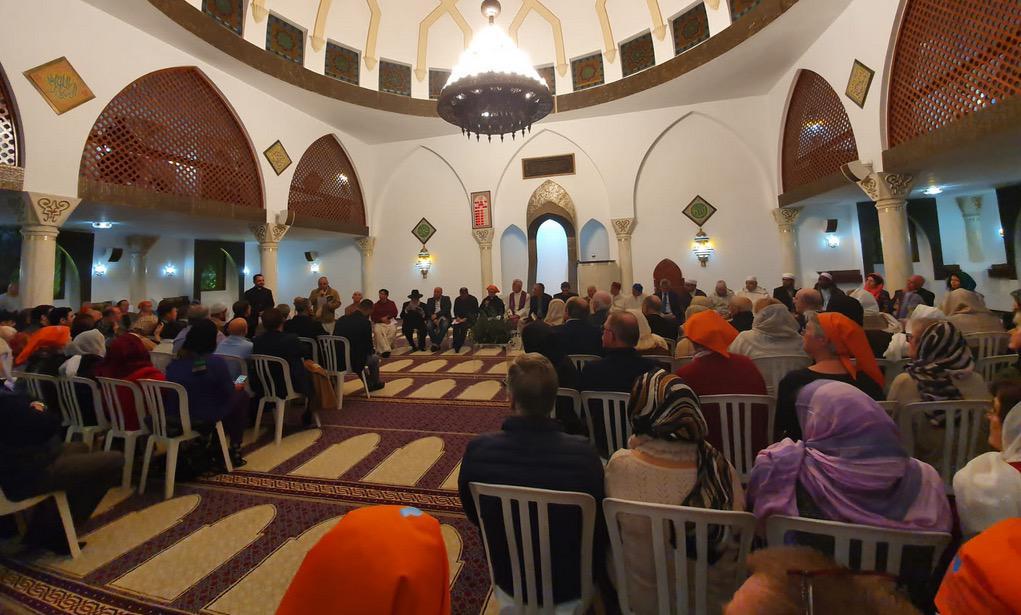 Oración interreligiosa por la paz en la mezquita de Marbella, el 16 de diciembre de 2019