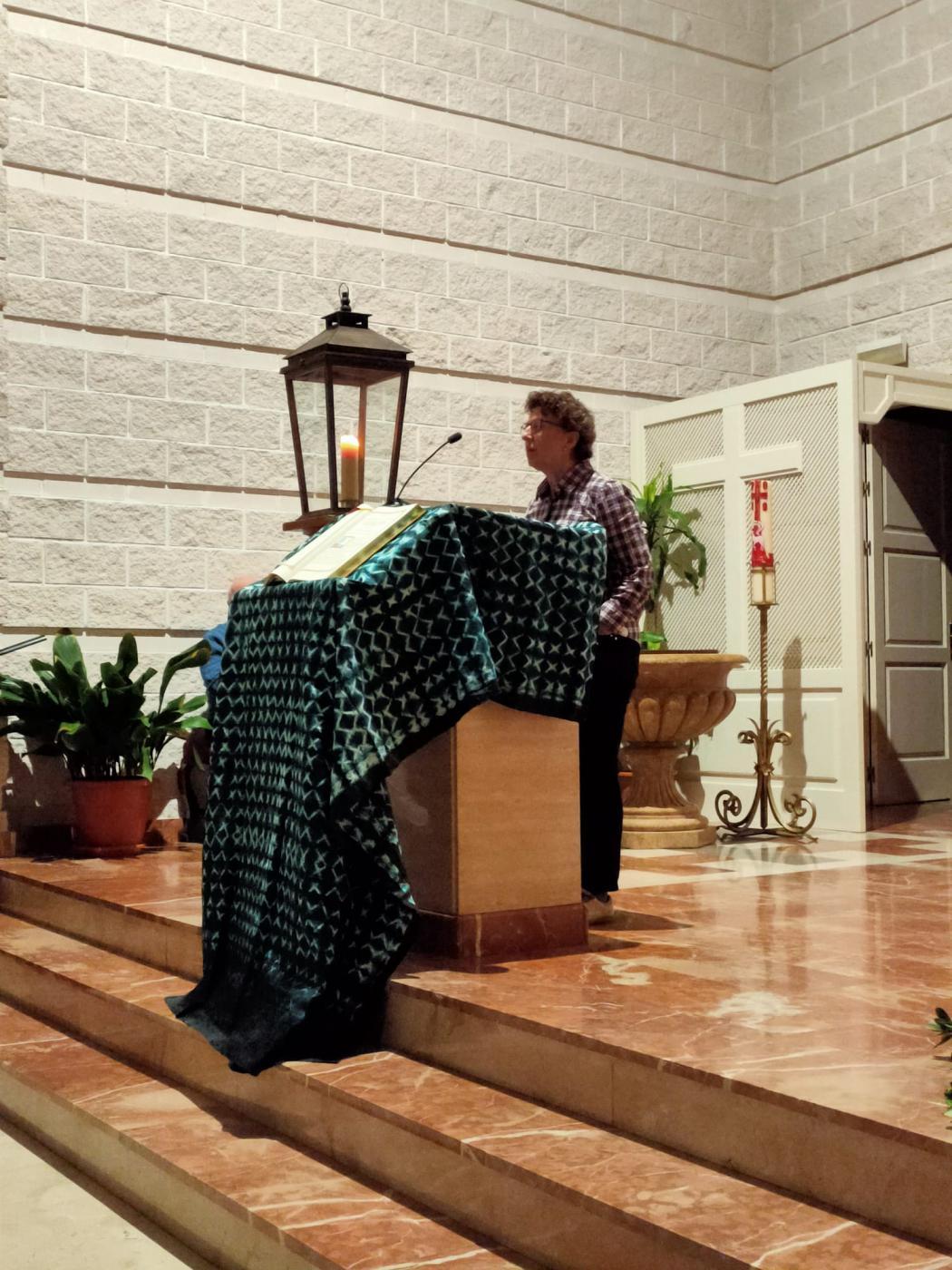 Vigilia de Oración en la parroquia Santa Maria Madre de Dios