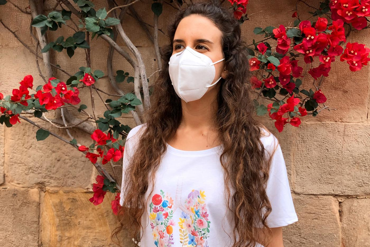 María López, diseñadora de la camiseta