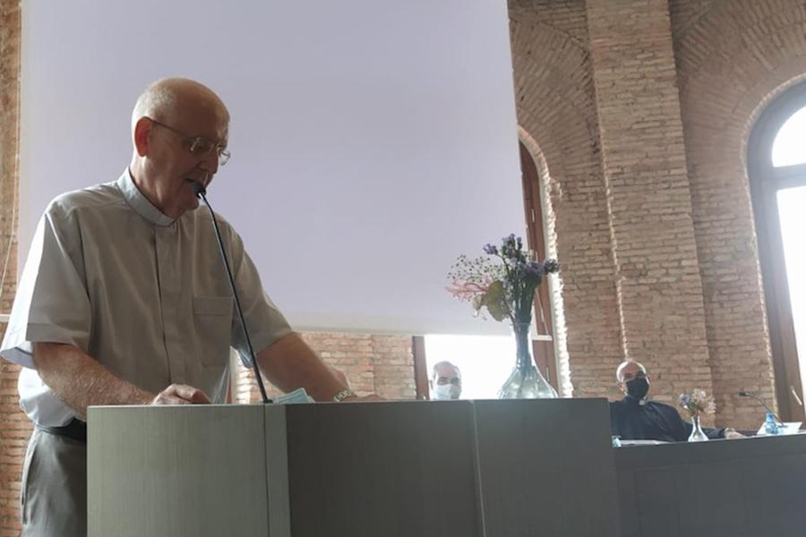 Antonio Collado en la Jornada Sacerdotal Inicio Curso Pastoral 2020-2021 // E. LÓPEZ