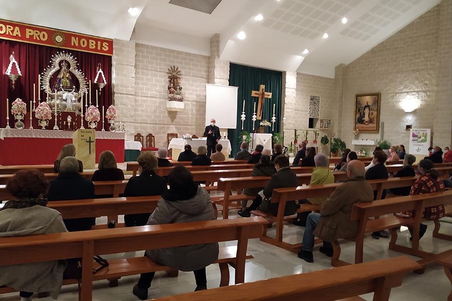 Visita Pastoral del Sr. Obispo, D. Jesús Catalá, a la parroquia Jesús Obrero
