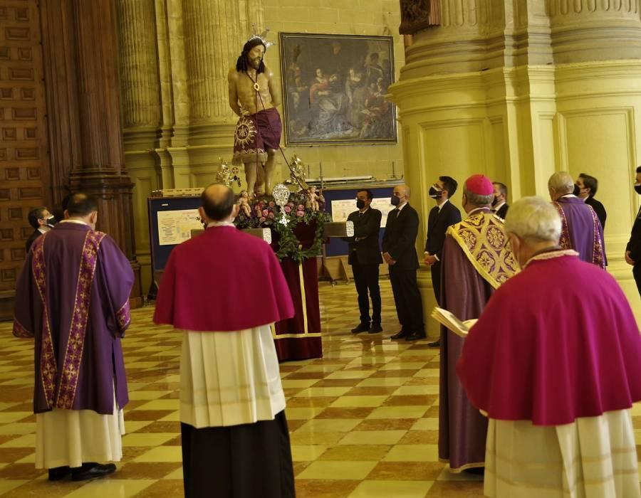 Vía Crucis de la Agrupación de Cofradías de Málaga en la Catedral