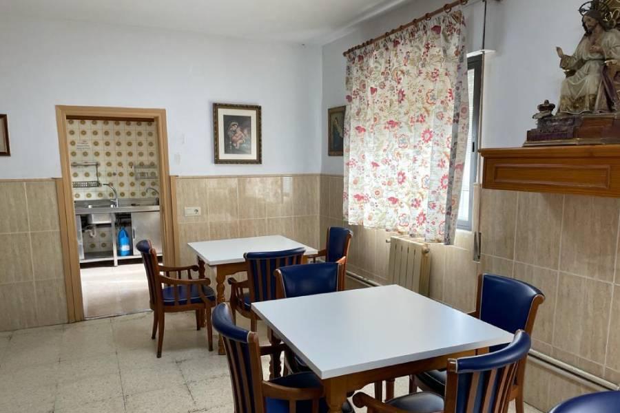 Comedor del Cottolengo de Málaga