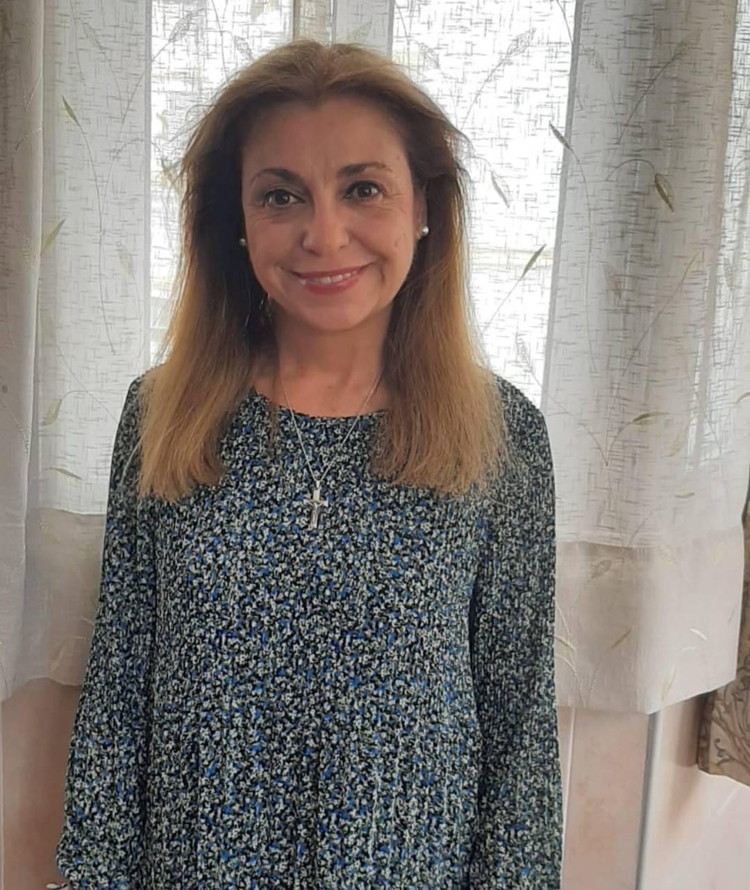 Gema García, voluntaria de Pastoral de la Salud