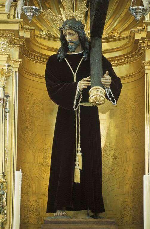 Jesu?s Nazareno en la parroquia de Nrta. Sra. de la Asunción en Almogía //IAPH