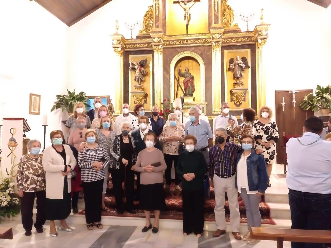 Visita Pastoral del Obispo de Málaga, D. Jesús Catalá, a Canillas de Aceituno, Sedella y Salares