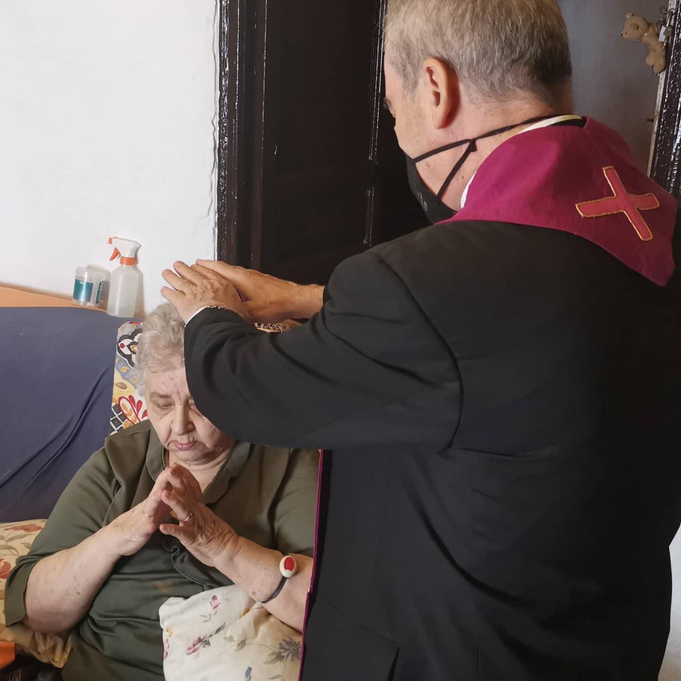 Visita Pastoral de D. Jesús Catalá, Obispo de Málaga, a Alcaucín
