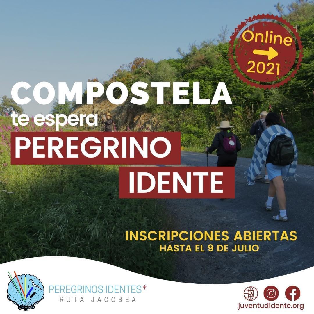 Publicidad de la ruta jacobea online de la Juventud Idente