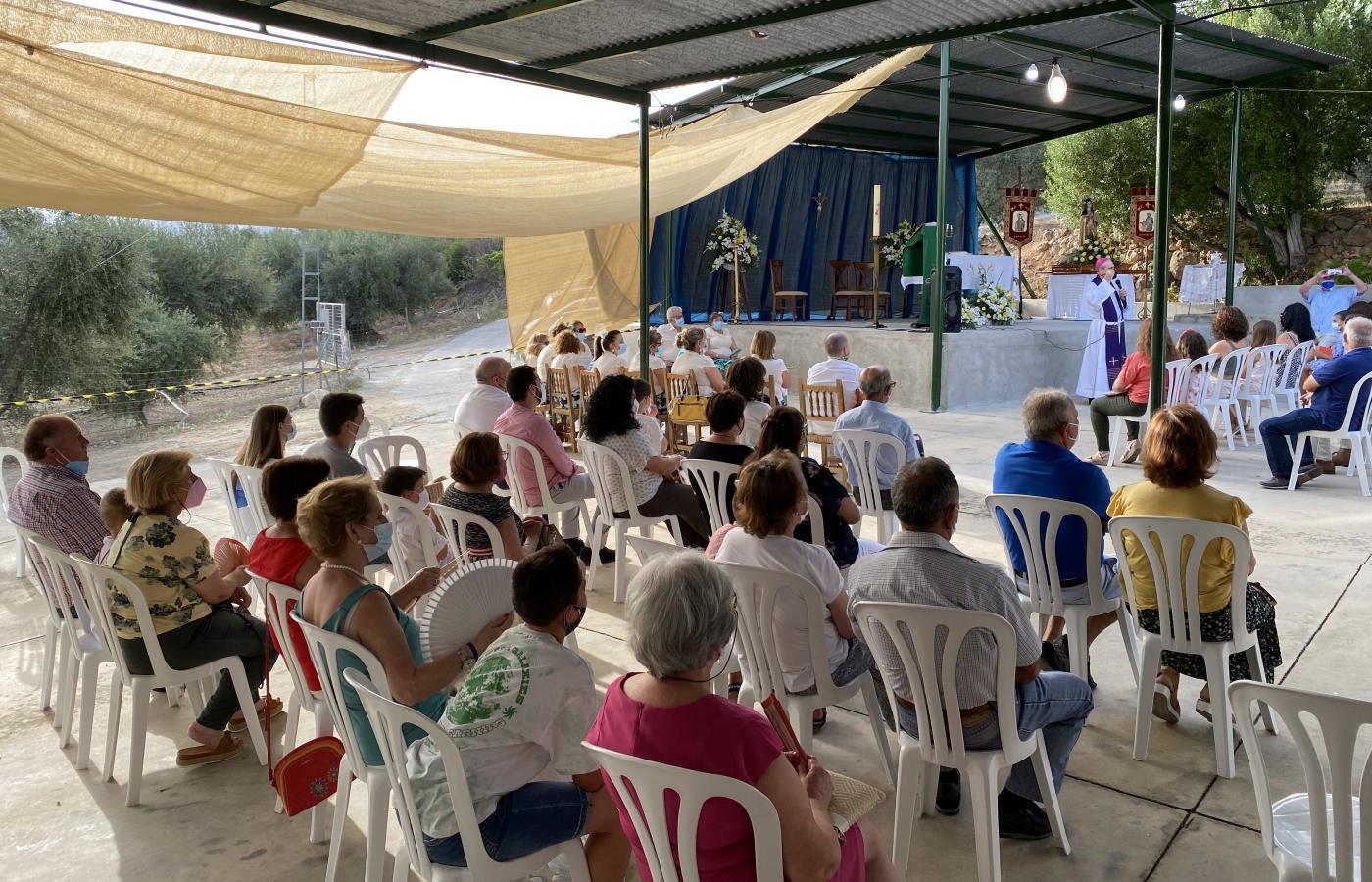 Visita Pastoral de D. Jesús Catalá a las pedanías de Los Marines y El Regalón, en Periana