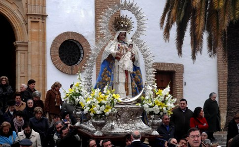 Ronda Celebra A Su Patrona La Virgen De La Paz Familia Diocesis