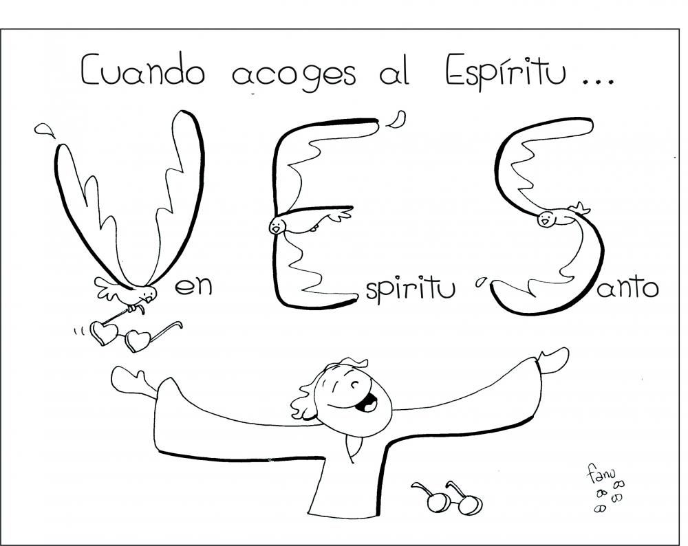 La Catequesis (El blog de Sandra): Nuevo Dibujo de Fano Pentecostés ...